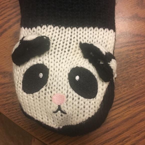 Jane and Bleeker Accessories - Jane & Bleeker Panda Leg Warmer Socks NWT